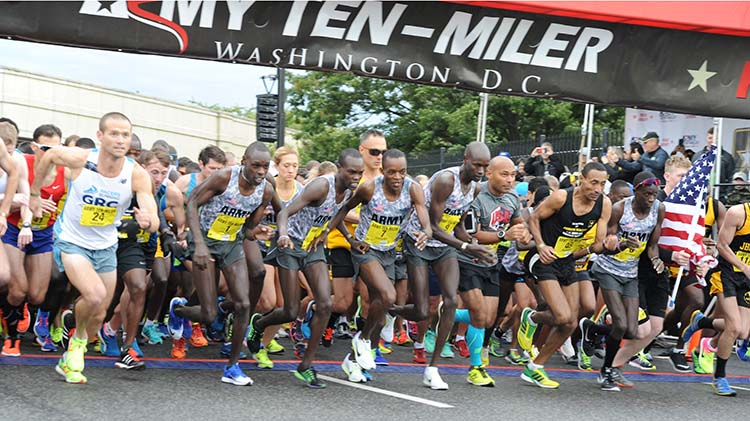 ARMY TEN - MILER QUALIFYING RACES