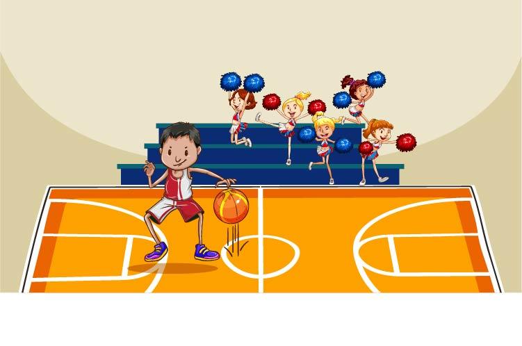 Basketball & Cheerleading
