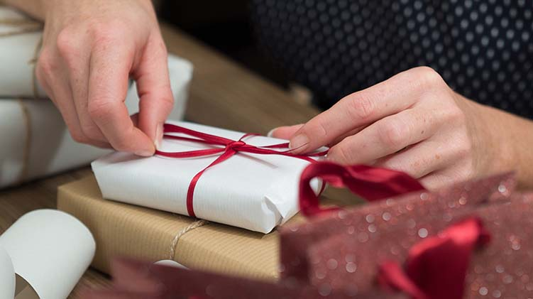 BOSS Gift Wrapping