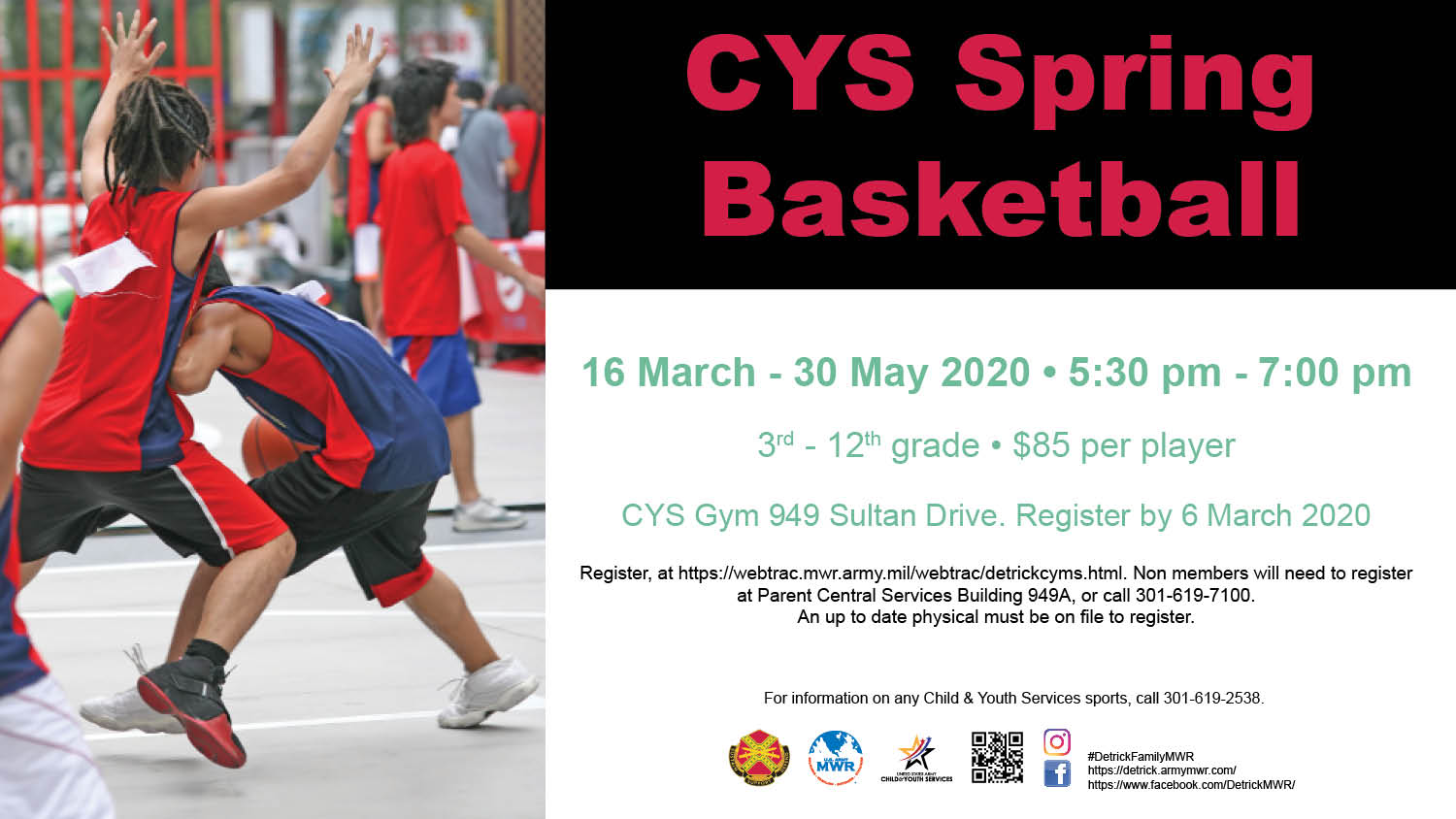 CYS Spring Basketball