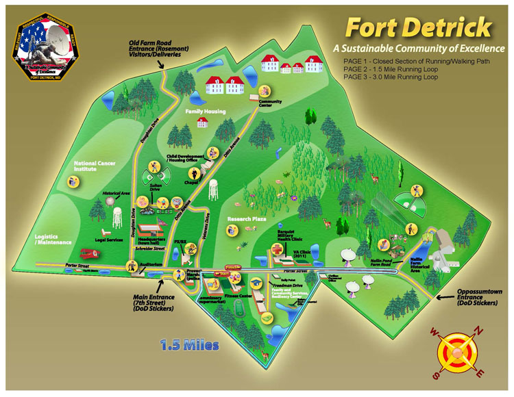 Fort Detrick Jogging Trail 2