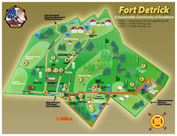 Fort Detrick Jogging Trail 3