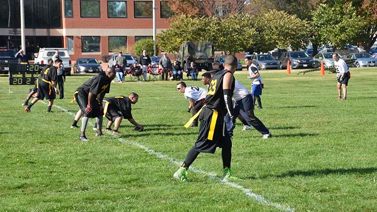 Army vs. Navy Flag Football Game